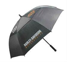 "Harley-Davidson® Black Bar & Shield 60"" Golf Umbrella UMB516804"