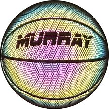 Murray Sporting Goods Reflective Glowing Holographic Basketball