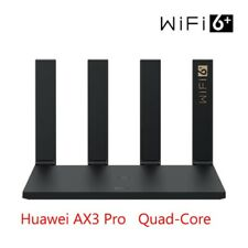 HUAWEI WiFi 6 AX3 Pro Router Wireless Router Quad-core Wireless 3000Mbps Black