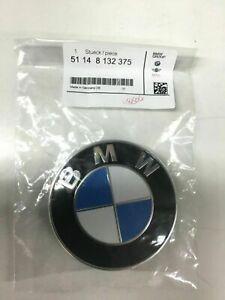 51148132375 STEMMA BMW COFANO 82MM LOGO EMBLEMA FREGIO ANTERIORE / POSTERIORE