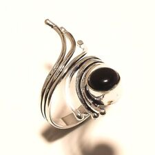 Black Onyx Silver Plated Free Shipping Ring Gemstone Jewelry