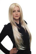Damen Perücke Wig blond-mix hell Mittelscheitel Haarersatz 75 cm 3217-24BT613
