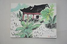 Excellent Chinese Scroll Painting By Wu Guanzhong  P10-10 吴冠中