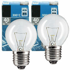 E27 ES 40w Lamp Light Bulb for Tricity Bendix Oven Cooker Pack of 2