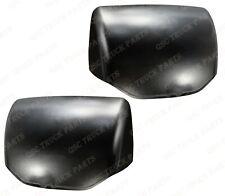 QSC Black Hood Mirror Cover for Kenworth T680 Peterbilt 579 Left Right Side