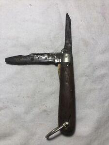 Vintage Kutmaster TL-29 Utica NY WW2 Era Linesman Knife Parts