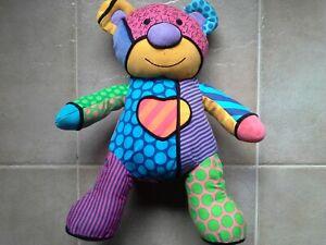 Jumbo Britto Popplush Enesco Tallulah The Teddy Bear Plush 31cm seated