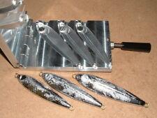 Saltwater Fish Jig mold 10,12,16oz CNC Aluminum