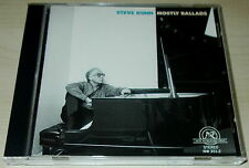 STEVE KUHN-MOSTLY BALLADS-FIRST ISSUE USA CD 1987-NO BARCODE/AAD-MINT