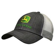 John Deere Hat, John Deere Cap, Trucker hat. 13080422 CH   NWT. charcoal