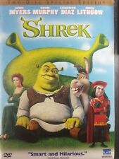 Shrek (DVD, 2001, 2-Disc Set, Special Edition) Mike Myers