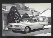 1960 PONTIAC EL CAMINO CONCEPT CAR ADVERTISING POSTCARD COPY '59 PONTIAC