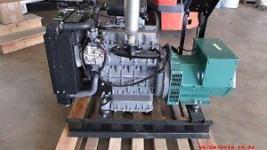 16.5kw Single Phase 120/240 Volts Refurbished Kubota Diesel Generator Set