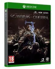 SOMBRAS DE GUERRA LA TIERRA MEDIA VIDEO-JUEGO XBOX ONE SELLADO EDICION ESPAÑOLA