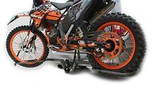 Voiture + Van TOW-Bar rack pour la plupart Motocross, Enduro & Trial Bikes 80CC-600CC