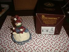 Boyds Bears Folkstone Ingrid Be Warm Snowball Ornament #25651