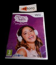 DISNEY VIOLETTA RITMO & MUSICA Nintendo WII PAL Español NUEVO Precintado new