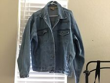 MOST WANTED men,s heavy denim jacket- size L made on earth by humans