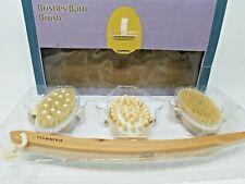 Gainwell Body Brush Set with Three Interchangeable Heads - Dry Brushing