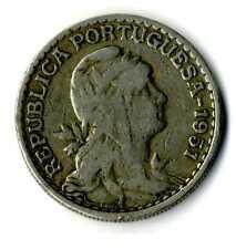 Moneda Republica Portuguesa 1951 1 escudo coin