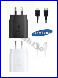 Genuine Original Samsung 25W SUPER FAST Wall Charger S21, NOTE 20 ULTRA