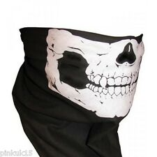 Ski Motorcycle Biker Army Style Scarf Skull Face Mask Snood Neck SAS - UK Stock