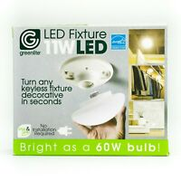 11 Watt Screw in OR Plug In Greenlite LED Bulb all Purpose Fixture New  3000K