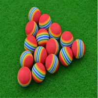 20Pcs Light Foam Golf Balls Sponge Elastic Indoor Outdoor Practice Training New
