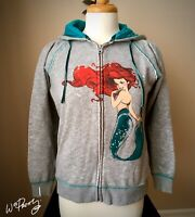 2013 D23 Disney Designer ART OF ARIEL Mermaid Fashion Zip Jacket Hoodie - Rare