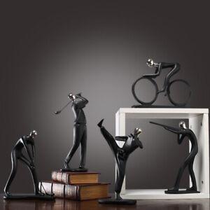 Elegant Statues For Bedroom Resin Home Decor Sports Character Model Ornaments