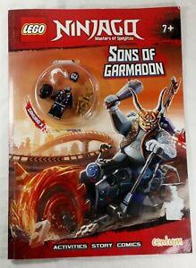 Lego Ninjago Sons of Garmadon Activities Story Comics with Figurine