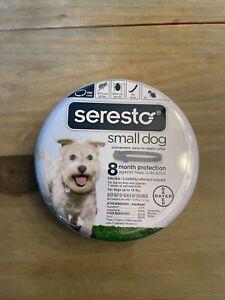SERESTO  small Dog Flea, tick and lice collar 8 month protection. NIB