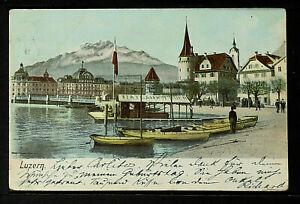 SWITZERLAND 370-LUZERN -[View] (1911)