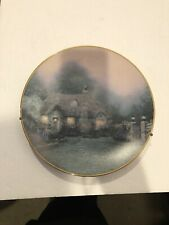 knowles collector plates Thomas Kinkade's Merritt's Cottage 1992 Plate # 2826B