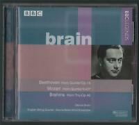 Dennis Brain. Beethoven. Mozart. Brahms. English String Quartet,   HLL54