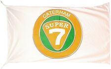 Large Caterham Super 7 flag (lscape) 1500mm x 900mm      (of)