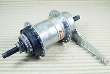 Shimano 3 Gang Nabe Nexus Rücktritt bremse 120mm 168mm Achslänge Silber Fahrrad