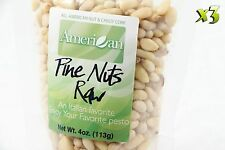 12oz Re-Sealable Bags of Delicious Raw Shelled Pignolias Pine Nuts [3/4 lb.]