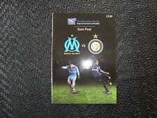 Olympique Marseilles v Inter Milan Nextgen Semi final 2012
