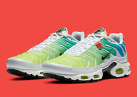 Nike Air Max Plus WW Worldwide Shoes White Multi-Color CK7291-100 Men's NEW