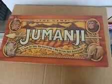 vintage milton bradley jumanji board game (missing piece)
