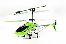S107 3 Channel RC Helicopter with Gyro, Green