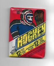 1977-78 OPC Hockey:Unopened Wax Pack