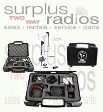 Police Tactical Headset EP6023X1QR Stingray WirelessPTT Motorola XTS5000 XTS2500