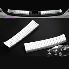 2XSUS304 Stainless Steel Inner Rear Scuff Trims for Toyota Prius XW50 2015 up