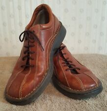 Born Mens 8/41M Shoes Oxford Brown Leather Walking Comfort Career Dress Lace B1