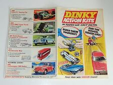 dinky ACTION KITS LEAFLET CATALOGUE - 1971