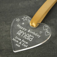 Personalised Gift Tag for Birthday, Wedding, Anniversary, Congratulations, Heart