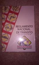 REGLAMENTO NATIONAL DE TRANSITO L; REDUCED FOR SPRING