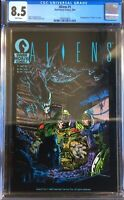Aliens #1 1st Printing CGC 8.5 Dark Horse Comics Movie 1st Appearance In Comics